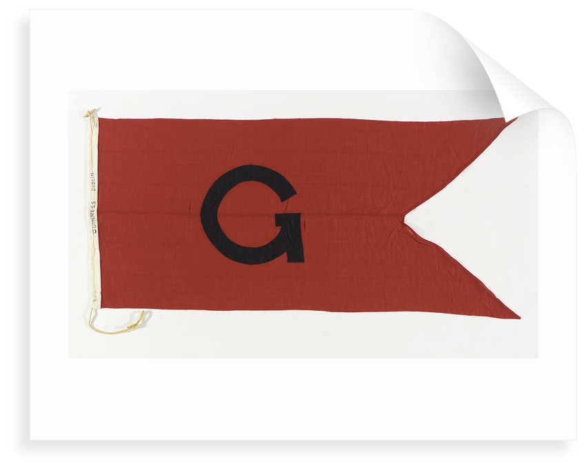 House flag, Guinness Co. by unknown