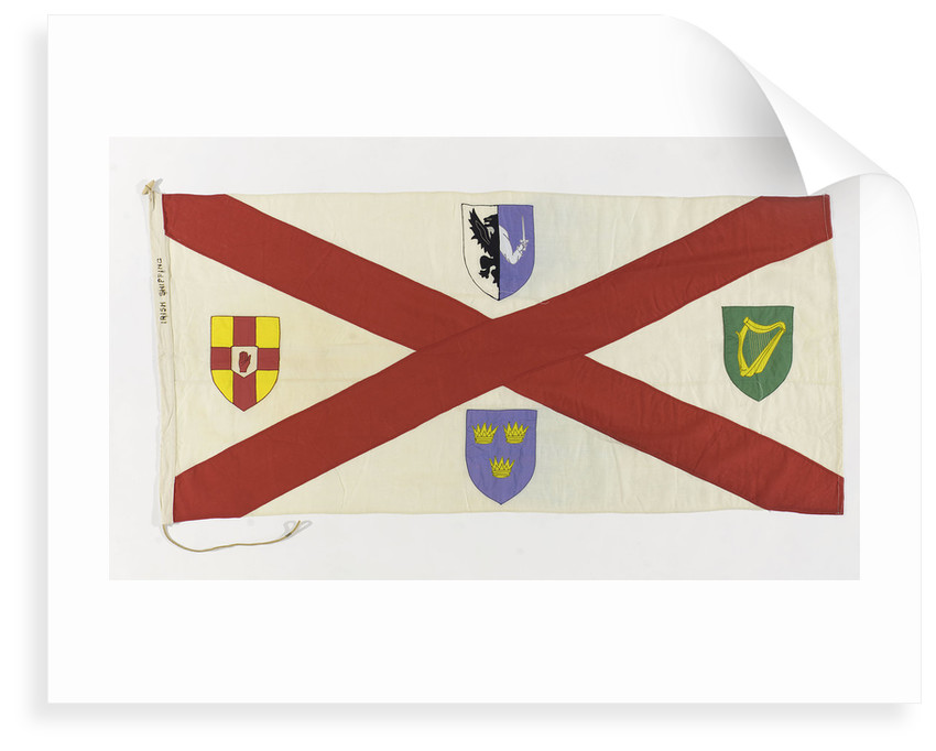 House flag, Irish Shipping Ltd by unknown