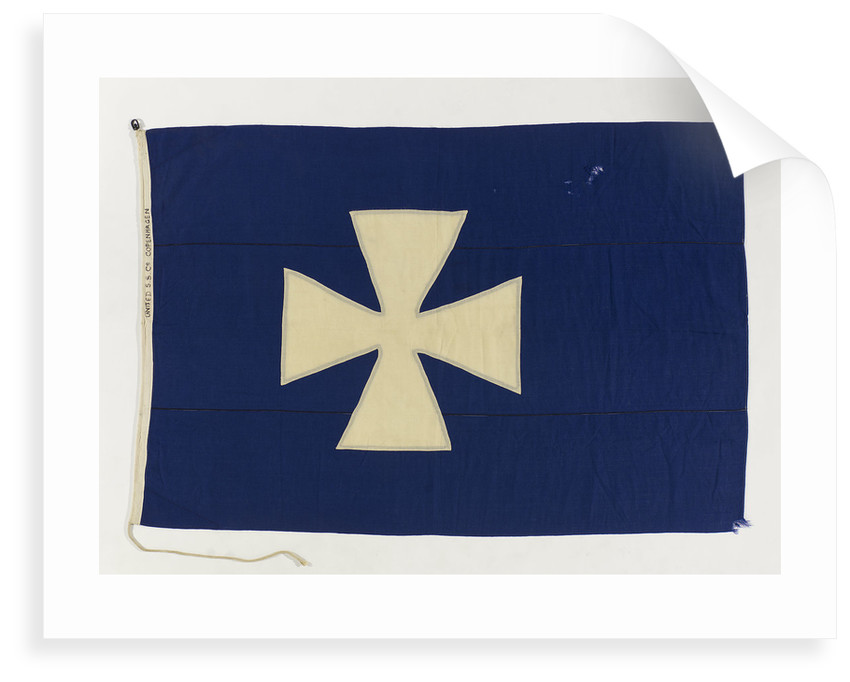 House flag, United Steamship Co. by unknown