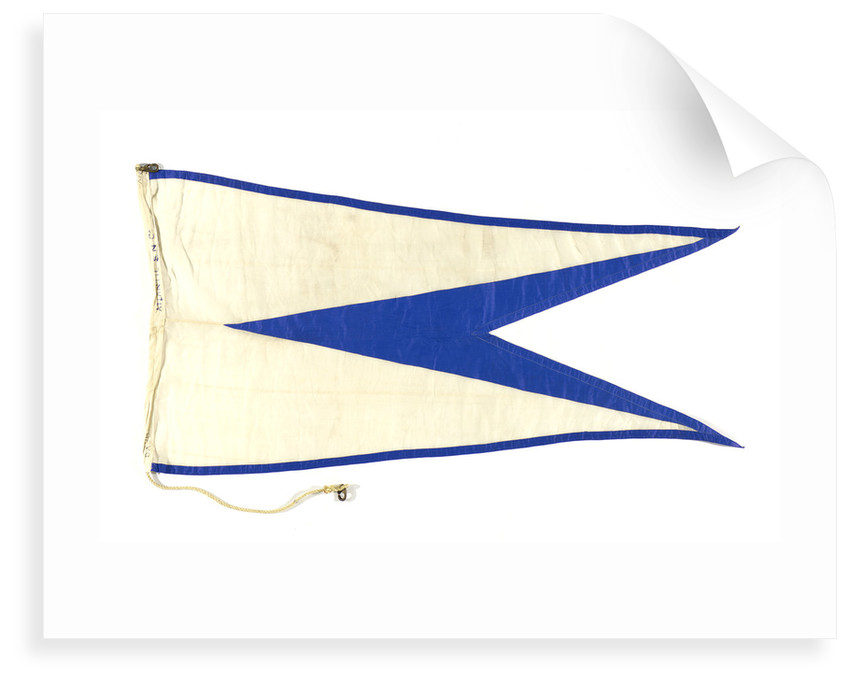House flag, Atlantic Steam Navigation Co. Ltd by unknown