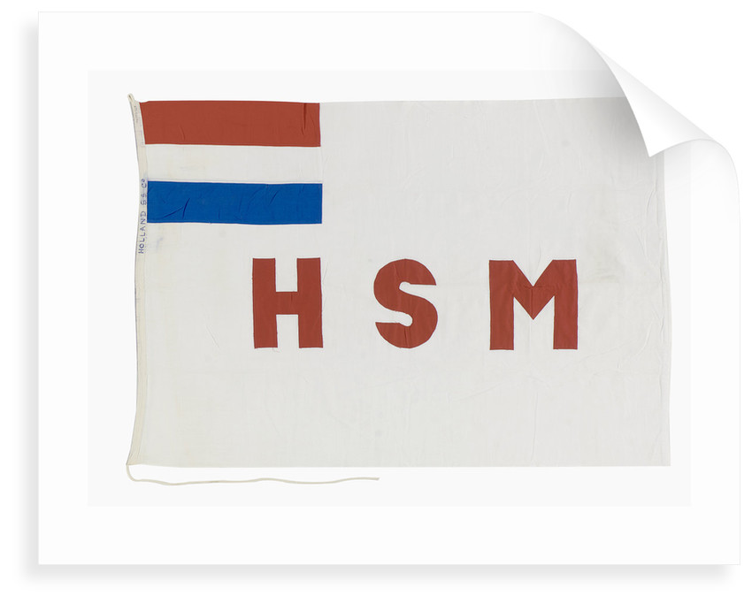 House flag, Holland Steamship Co. by unknown