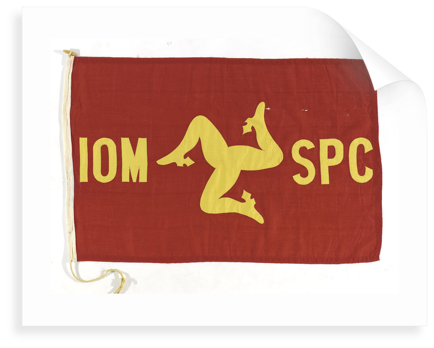 House flag, Isle of Man Steam Packet Co. Ltd by unknown