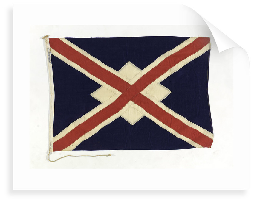 House flag, Union Castle Mail Steamship Co. Ltd by unknown