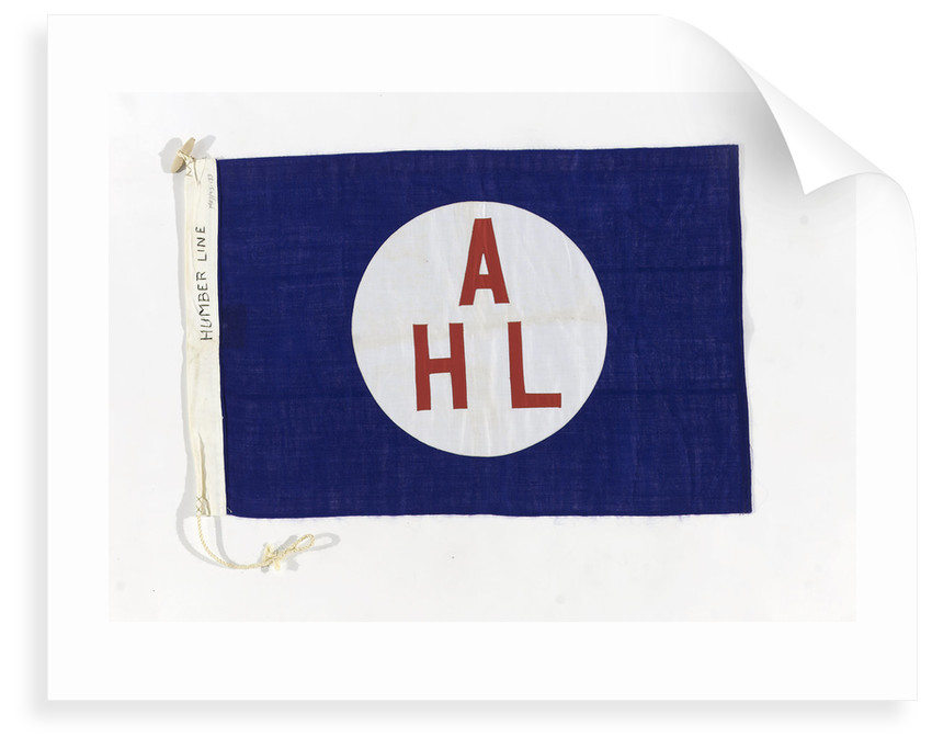 House flag, Humber Line by unknown