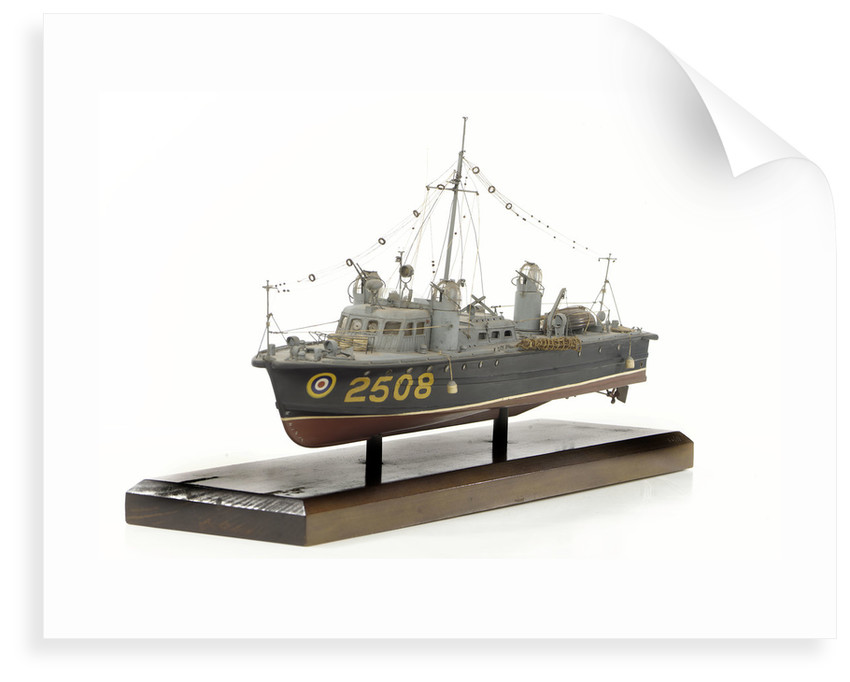 Full hull model, air-sea rescue launch, port by unknown