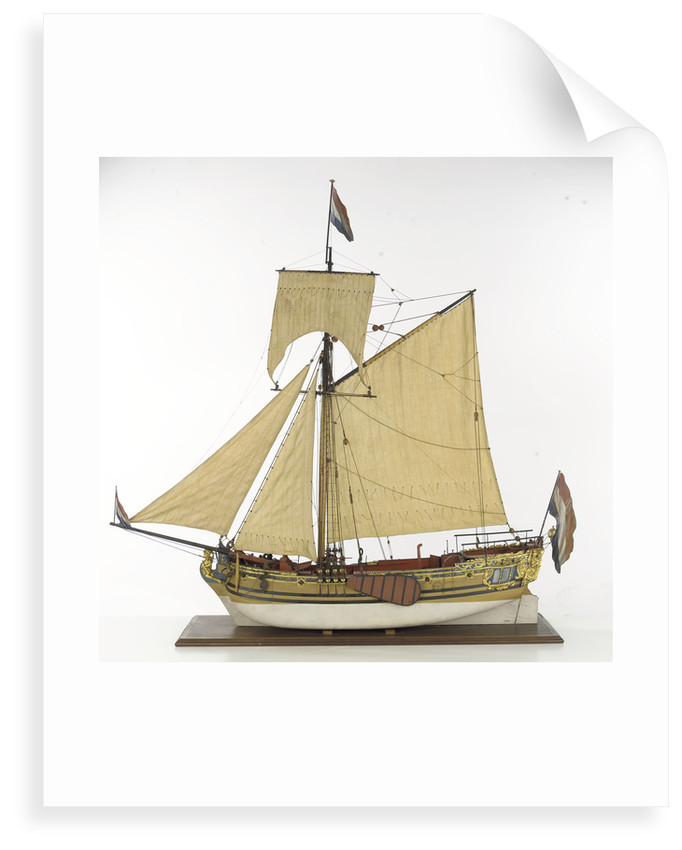 Prinz Van Oranje', port broadside by unknown