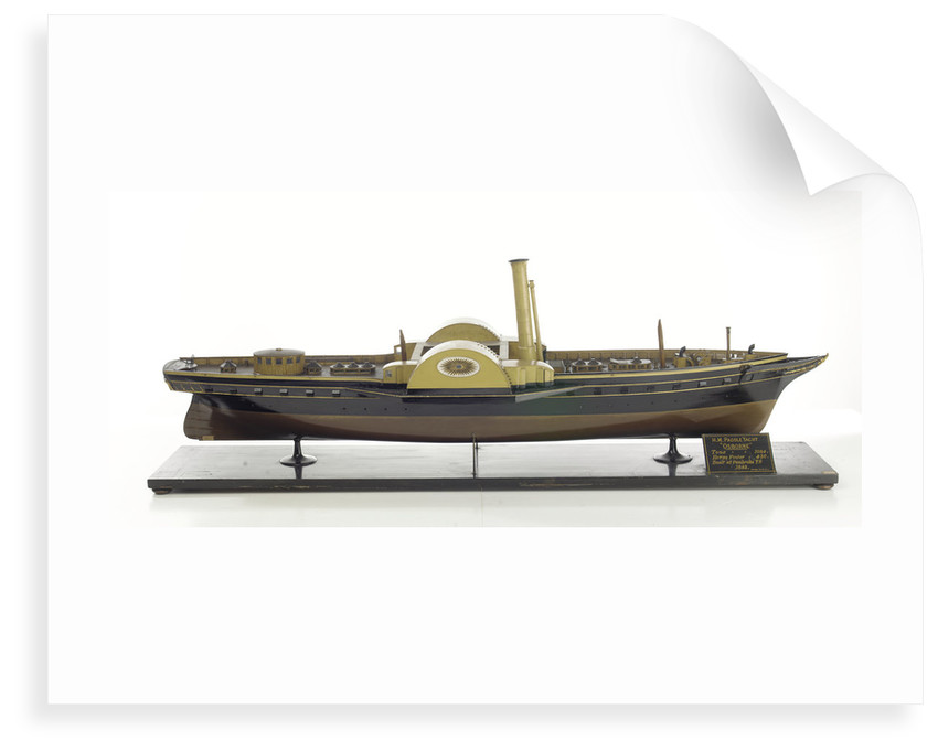 'Osborne', starboard broadside by David Harvey