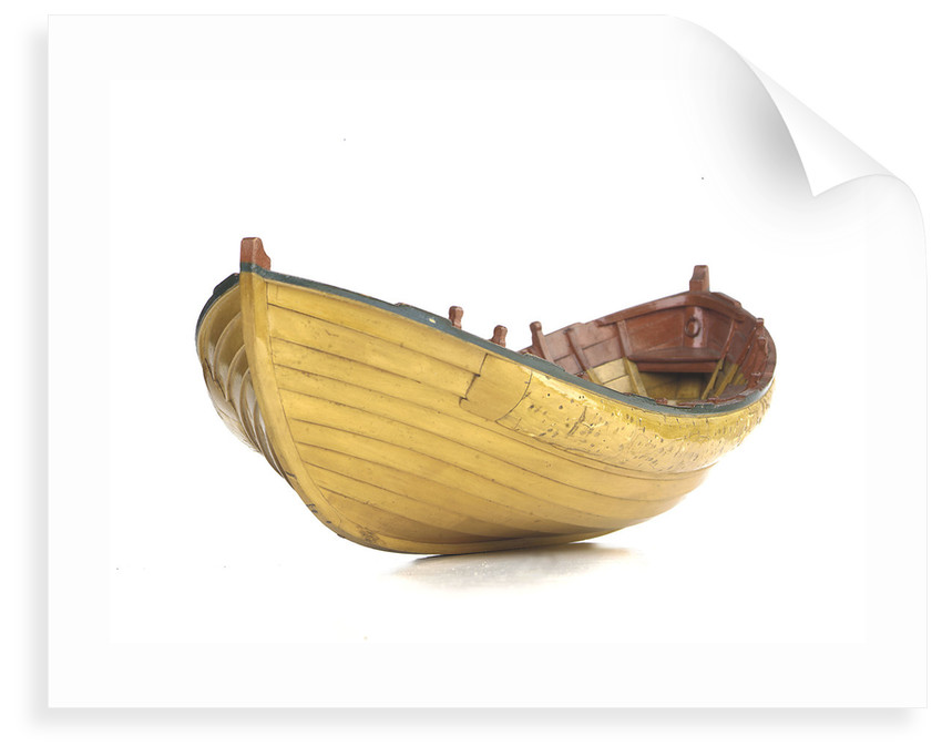 Full hull model, Greathead lifeboat by unknown