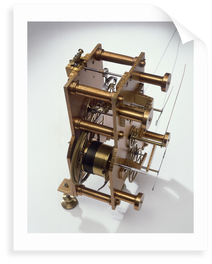 Astronomical regulator, movement back by Robert Pennington