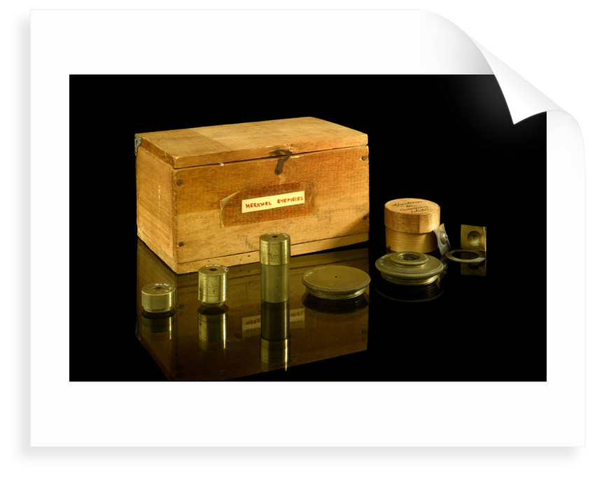 Eyepiece mounts by Johann Alexander Herschel