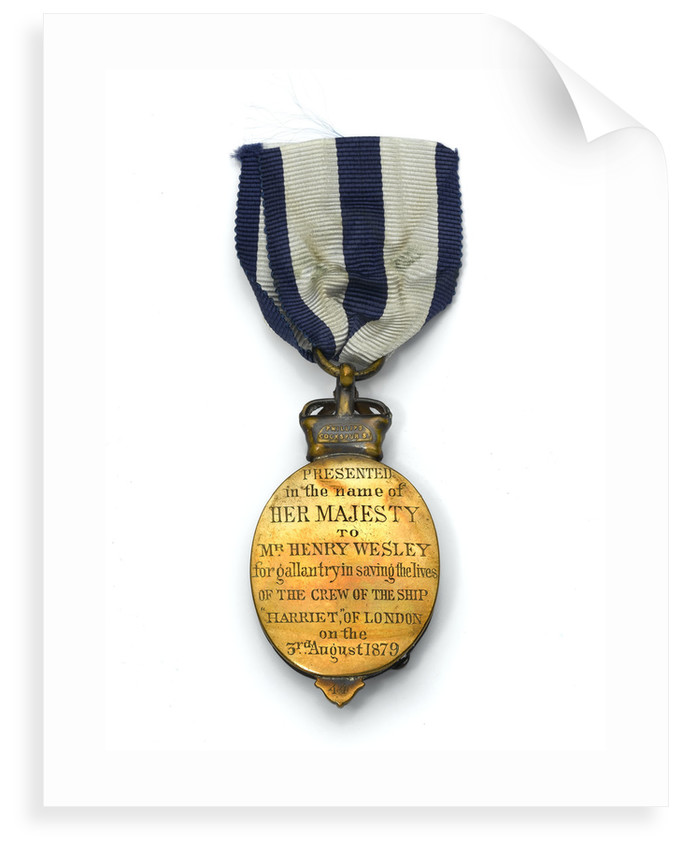Albert Medal of the Second Class, reverse by Jemmett-Browne