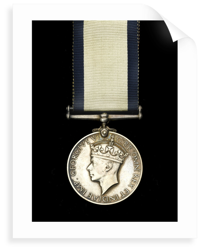 Conspicuous Gallantry Medal, obverse by Percy Metcalf