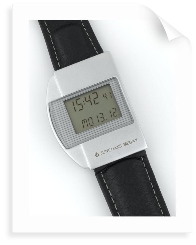 Wristwatch face by Junghans
