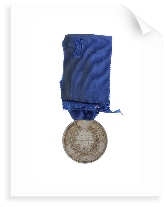 Sardinian Medal for Valour, reverse by F. Galeazzi