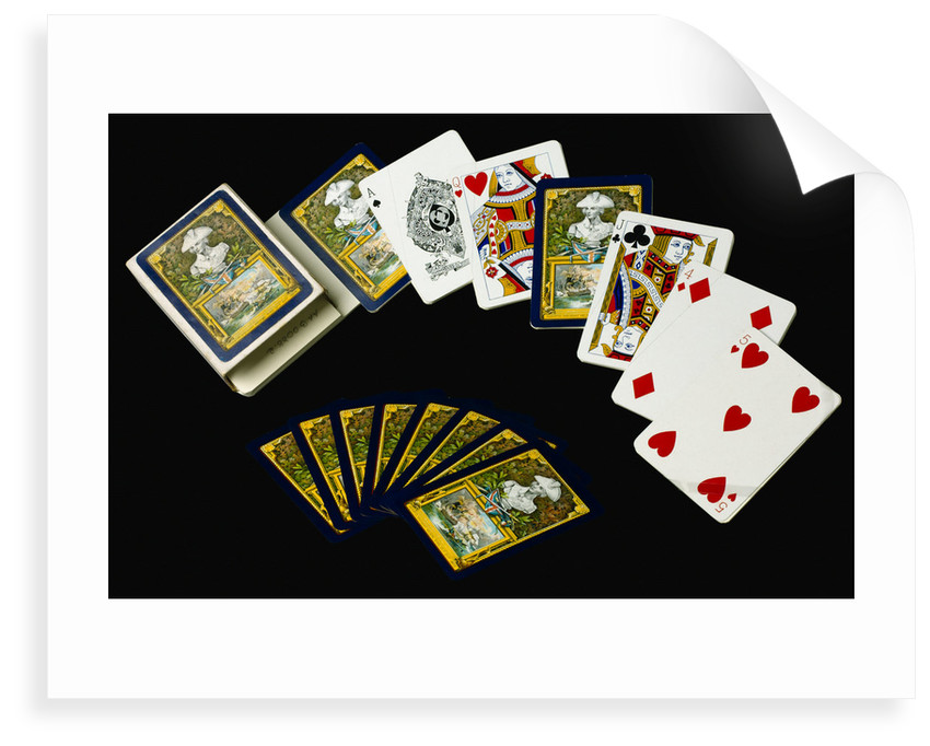 Playing cards by Charles Goodall & Son Ltd.