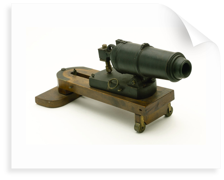Carronade model by unknown