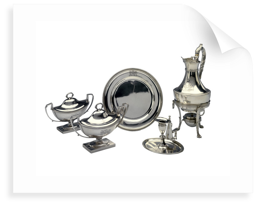 Silver Plate Group by Daniel Pontifex