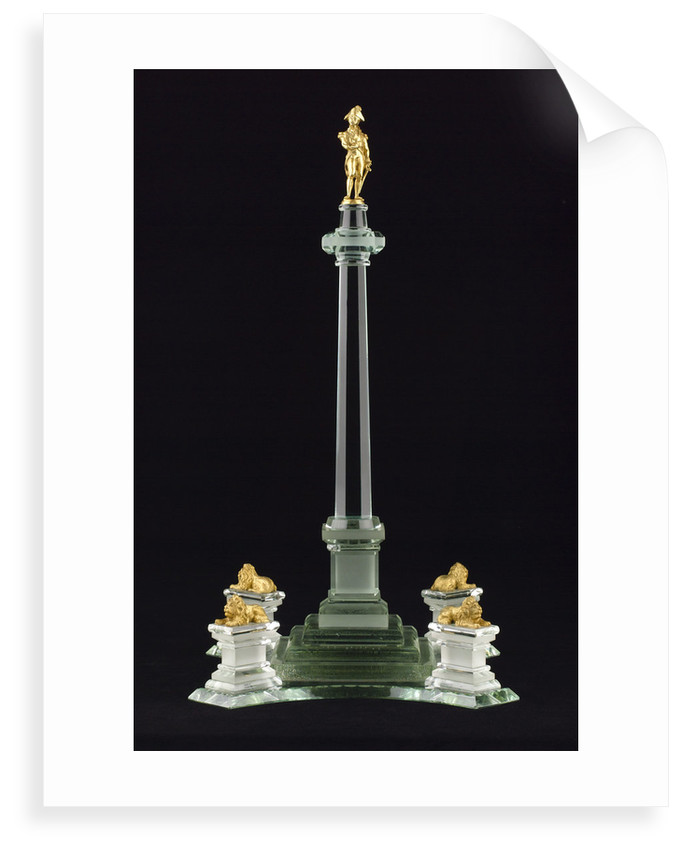 Ornament in the form of Nelson's Column by unknown