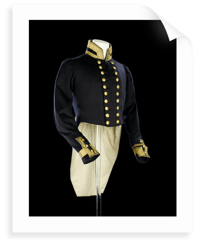 Full dress coat, Indian Naval uniform: pattern 1828 by Maynard & Harris