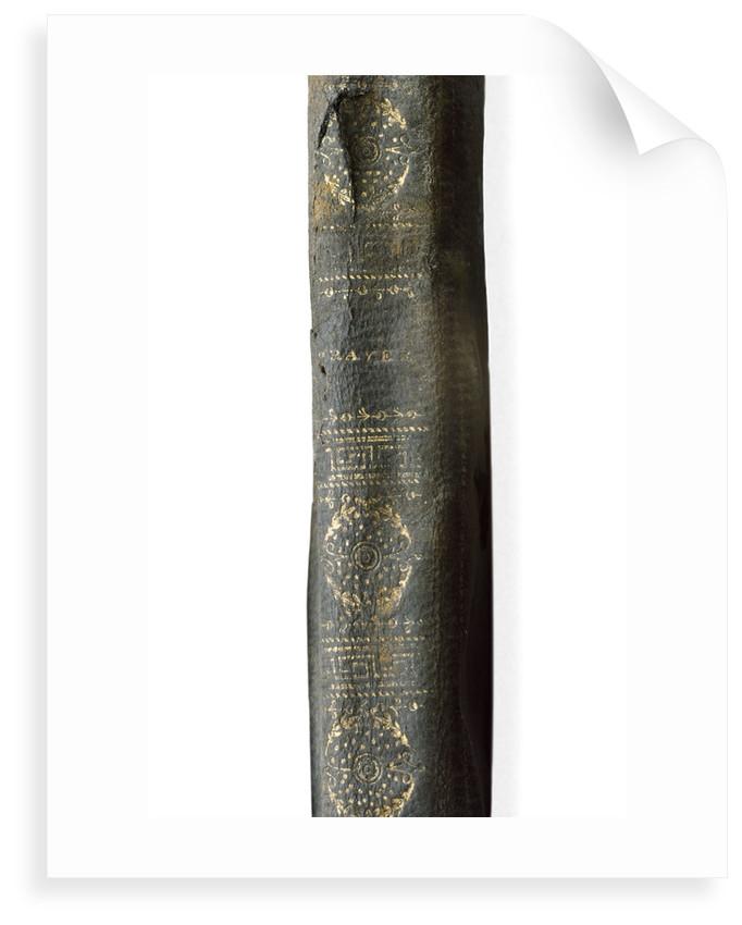 Prayer book - spine by unknown