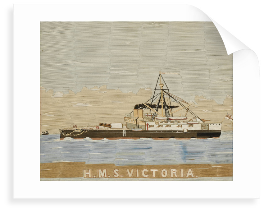 HMS 'Victoria' by unknown