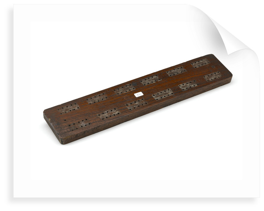 Cribbage board by William Baddeley