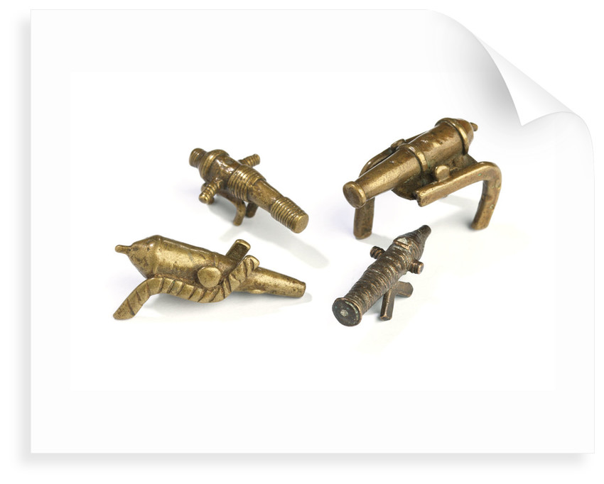 Akan gold weights by unknown