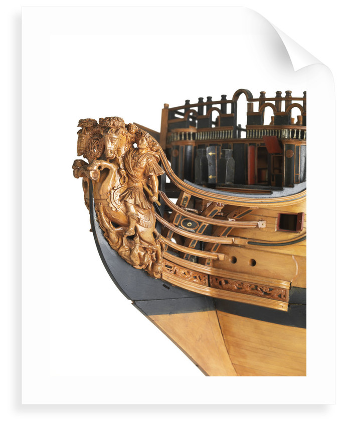 'Royal William', figurehead detail by unknown