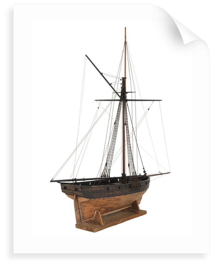 Cutter, starboard stern quarter by unknown