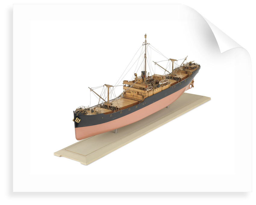 Standard D-type cargo ship, port 3/4 bow by S.P. Austin & Sons Ltd.