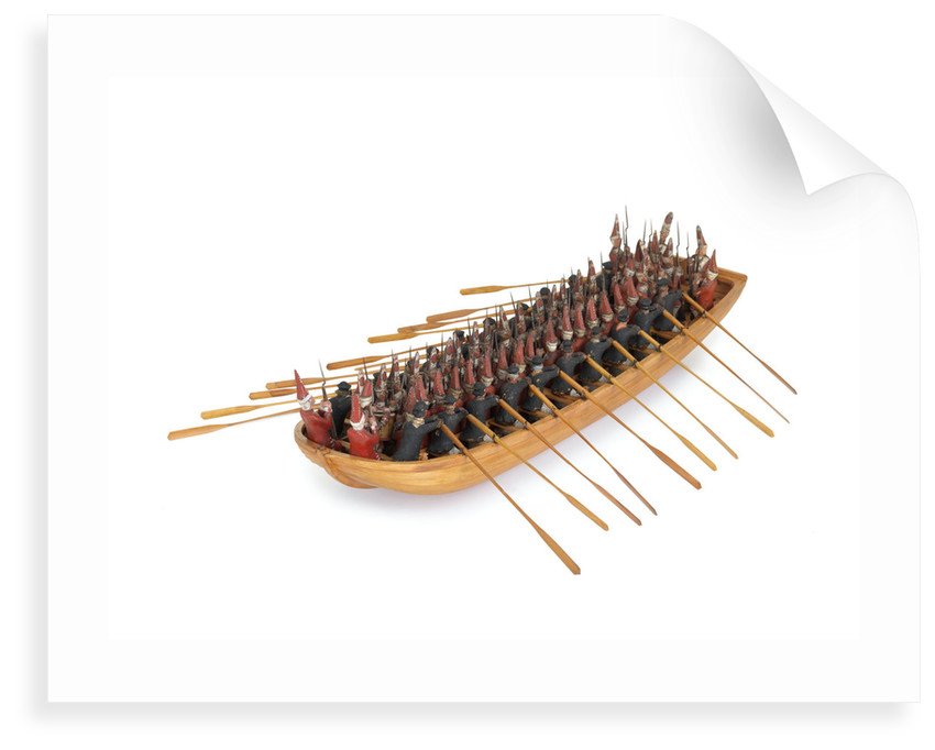 Model of a troopboat by unknown