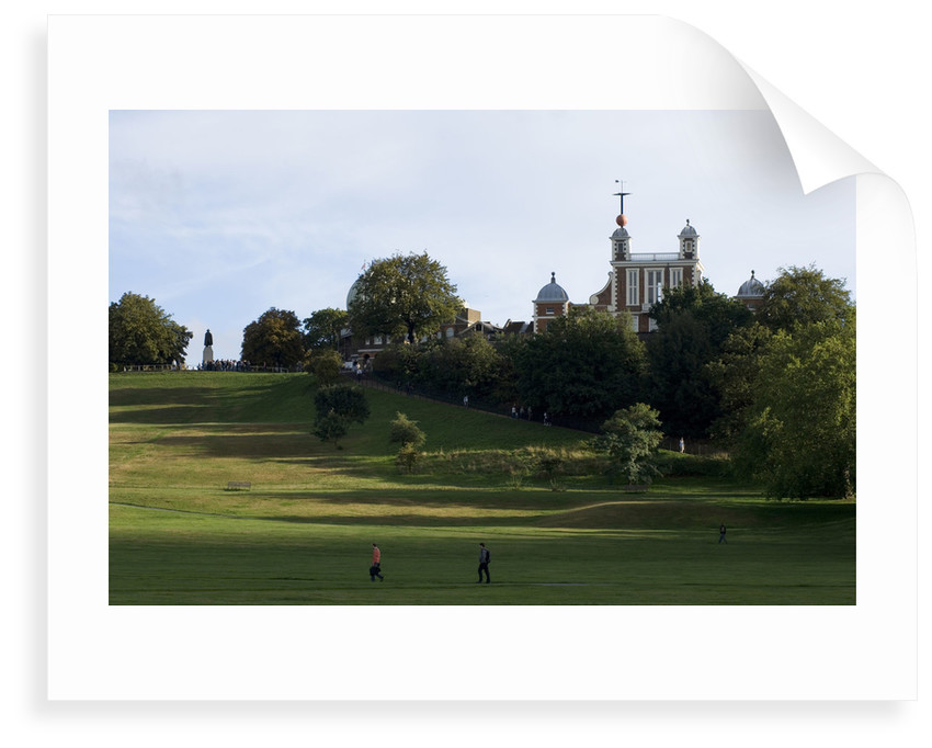 Greenwich Park and Royal Observatory by National Maritime Museum