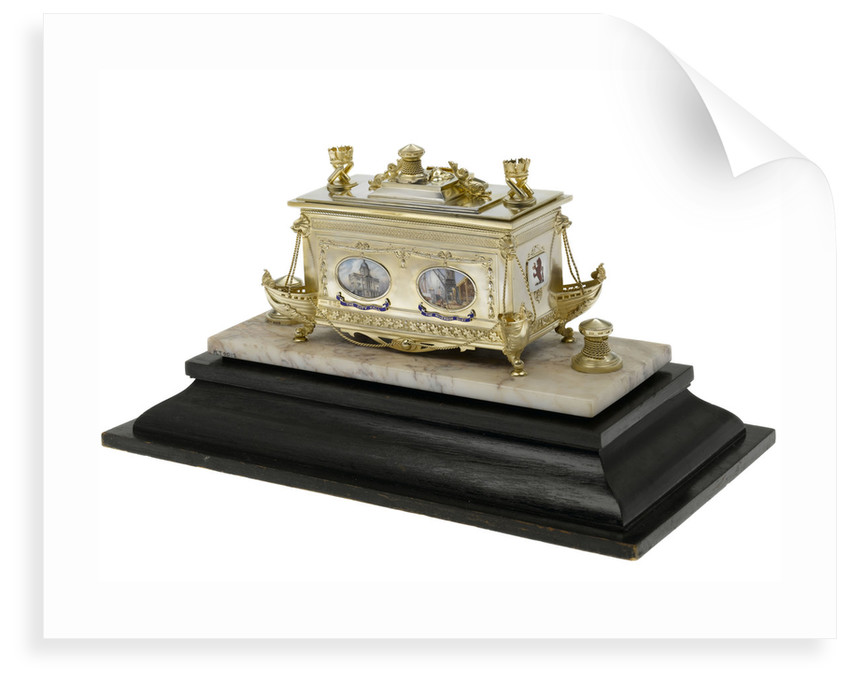 Freedom casket presented to Admiral of the Fleet Sir David Beatty, 1st Earl Beatty (1871-1936) by the City of Hull, 22 October 1920 by S Blanckensee & Son Ltd.