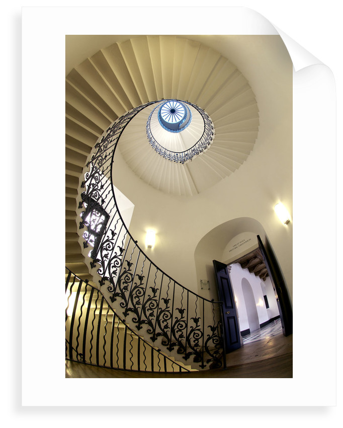 Tulip Stair, Queen's House, Greenwich by National Maritime Museum Photo Studio