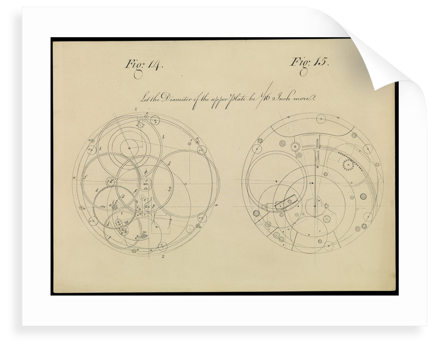 Figure 10 of 10 relating to Harrison's 4th marine timekeeper taken from 'The Principles of Mr Harrison's Timekeeper' (1767) by unknown
