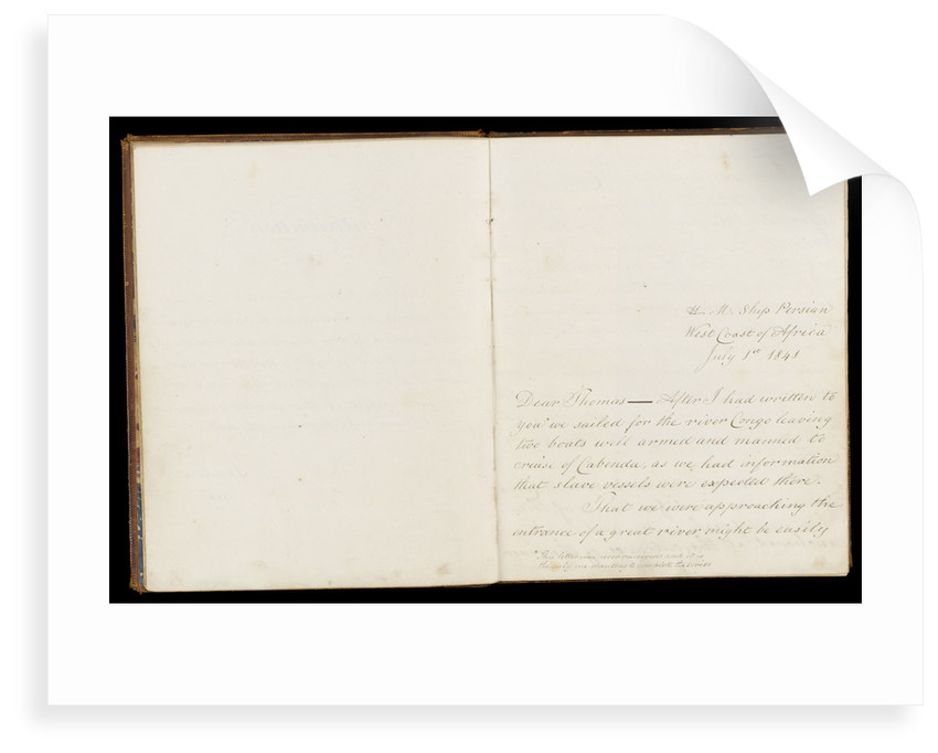 Journal of Dr McIlroy, RN, 1843 by unknown