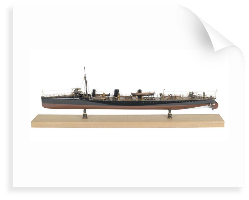 Warship, torpedo-boat destroyer HMS 'Sturgeon' (1894) by unknown