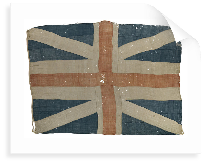 The command flag of Richard, Earl Howe (1726-1799) by unknown