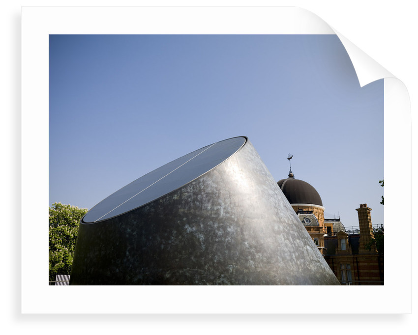 Exterior of Peter Harrison Planetarium, Royal Observatory, Greenwich by National Maritime Museum Photo Studio
