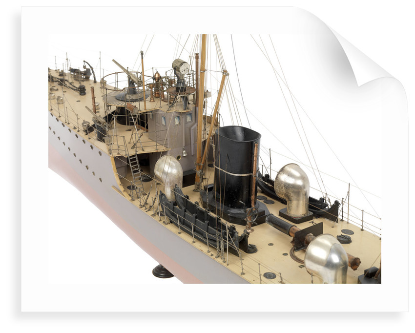 Model of destroyer HMS 'Boyne' (1904) by unknown