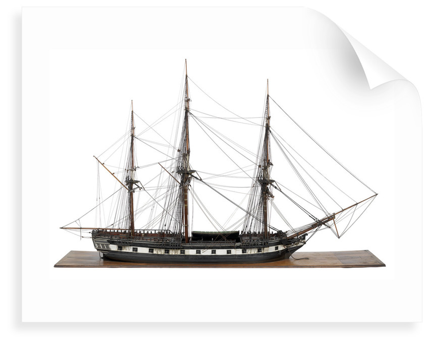 Ship of 20 guns by unknown
