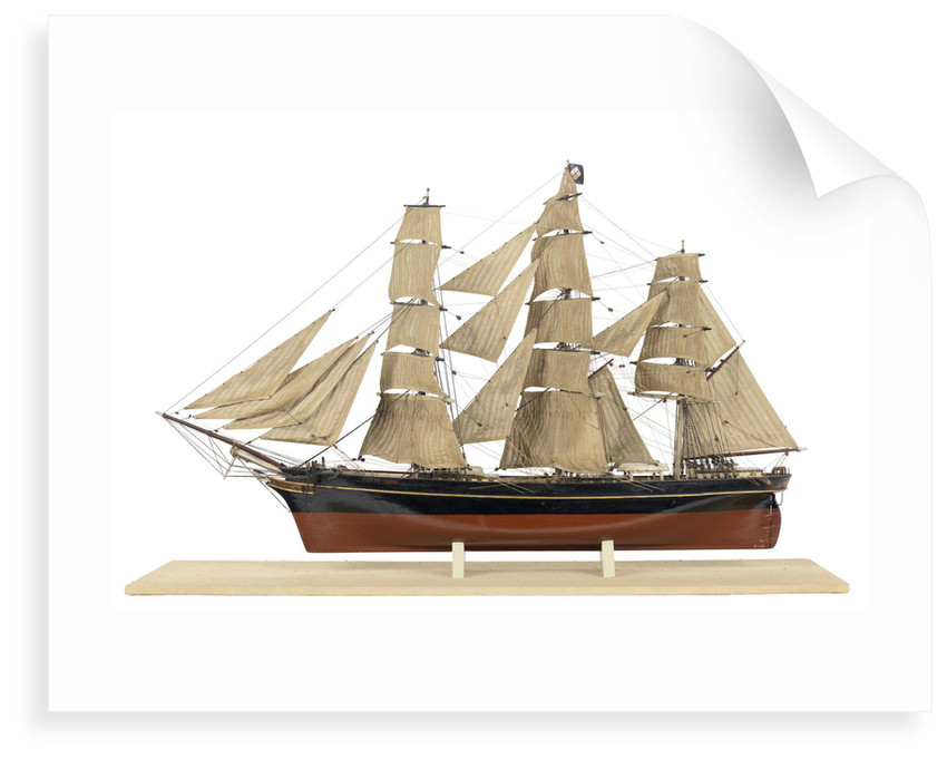 'Cutty Sark' (1869) by Thomas Rosenkvist