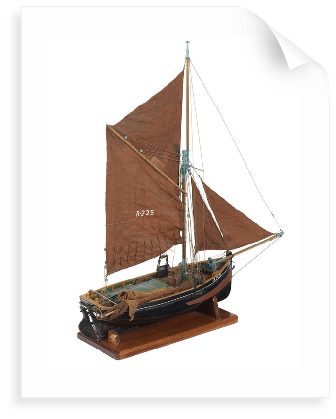 Bawley trawler 'Providence' (1920) by D. S. Paterson