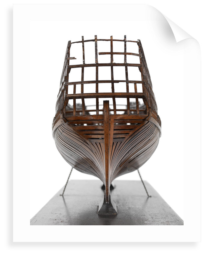 Warship (1715-1717) by unknown