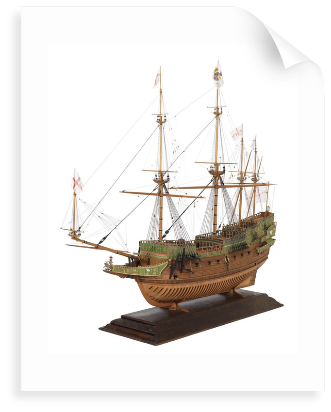 'Prince Royal' (fl.1610); Warship; 55 guns by Basil Grenville Peter