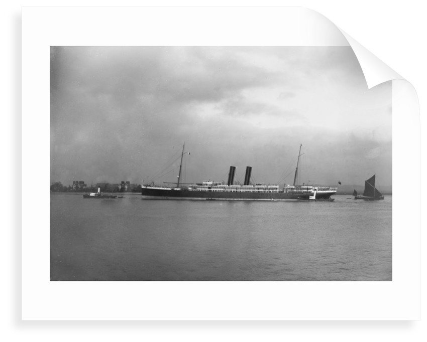Passenger liner 'Ortona' (Br, 1899) Pacific Steam Nav Co Ltd. by unknown
