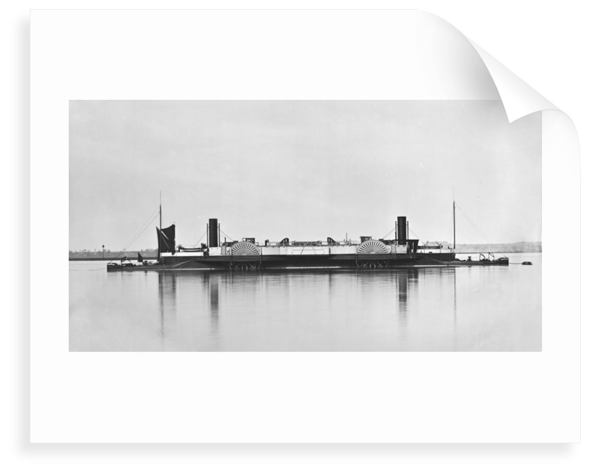 SS 'Bessemer' (Br, 1875), moored off Gravesend by unknown