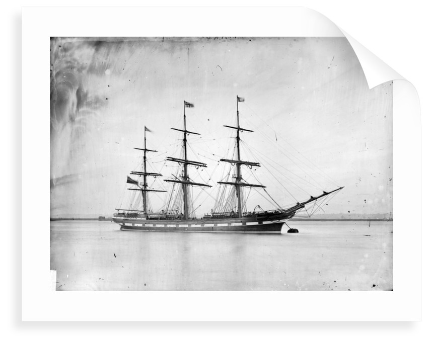3-masted ship 'Piako' (Br, 1876), New Zealand Shipping Company Ltd. by unknown