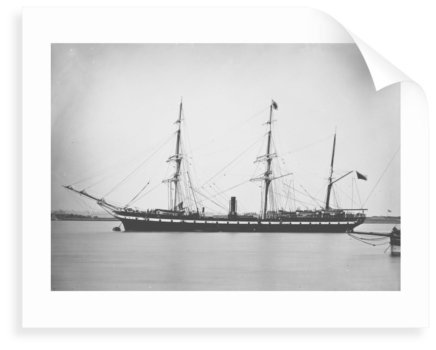 Passenger liner 'Kent' (Br, 1876), R. Wigram by unknown