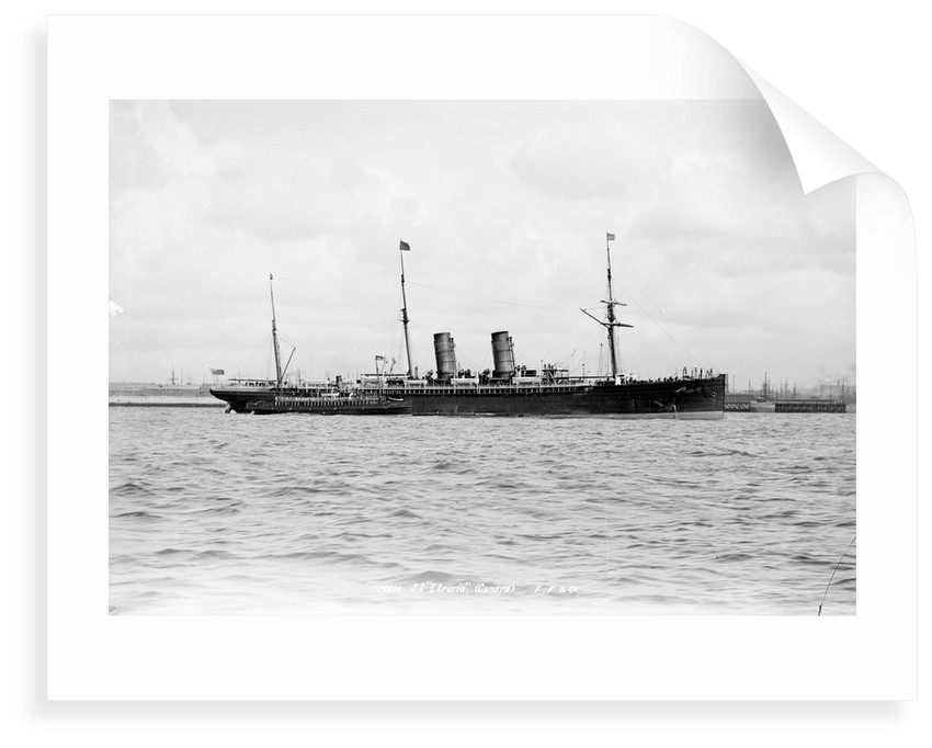 Passenger liner 'Etruria' (Br, 1884), Cunard S S Co Ltd by National Maritime Museum
